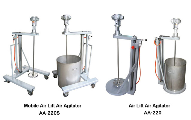 Industrial Air Agitators Mixer Amp Paint Mixing Machine For